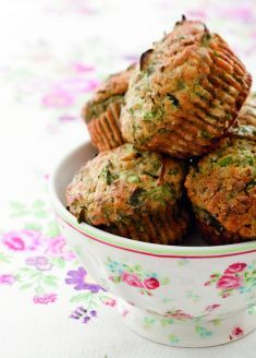Muffin al crescione e formaggio di capra - Tutte le ricette dalla A alla Z - Cucina Naturale - Ricette, Menu, Diete