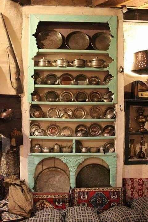 Geleneksel bir Sivas mutfağı/ A traditional kitchen of Sivas /Turkey