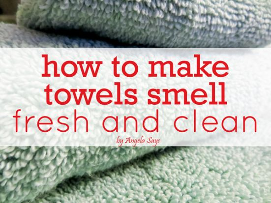 1000 ideas about towels smell on pinterest smelly How to get rid of shower smell