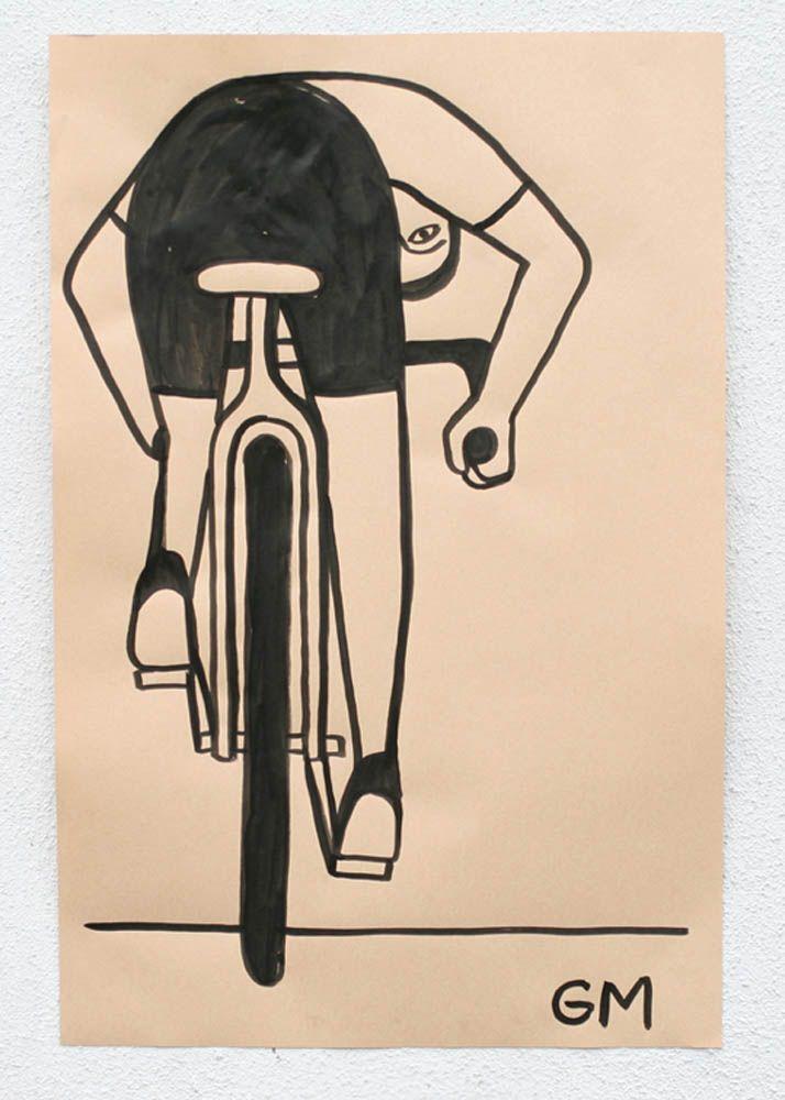 bike by Geoff Mcfetridge