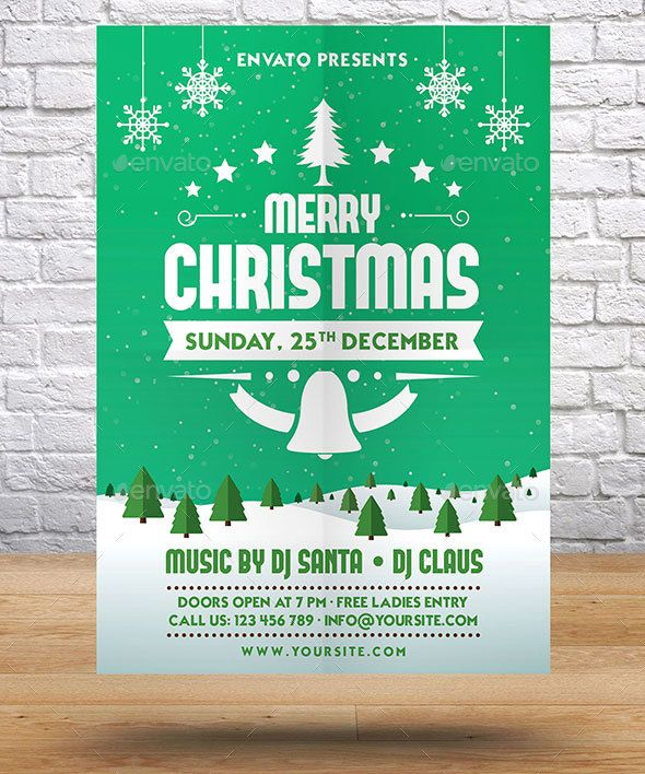 27 best christmas images on Pinterest Christmas card sayings - christmas flyer template