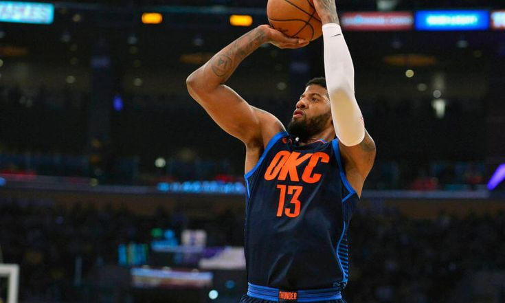 Paul George hugs dad mid-game after scorching Lakers