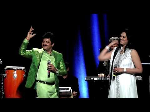 Kuch Kuch Hota Hai live in concert Las Vegas 2014 with Udit Narayan and Dipti Shah - YouTube