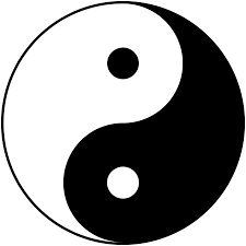 I chose the 'Yin Yang' symbol, because is expresses that although dark and light appear to be binary opposites, these contrary forces can actually be complementary to one another - adding to one another without actually losing its authentic self.