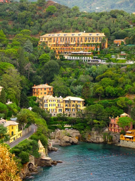 Hotel Splendido in Portofino, Italy -Went here last summer and it was FABULOUS!