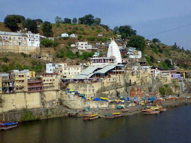 Omkareshwar Jyothirling Temple - Omkareshwar - Narmada River - Madhya Pr...