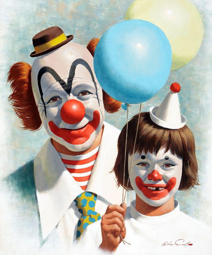 Открытки о цирке, картинки