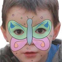 Maquillage enfant Papillon  Tuto maquillage enfant - Loisirs créatifs