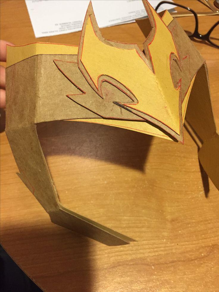 Starting a Loki helmet (Loki helmet diy)