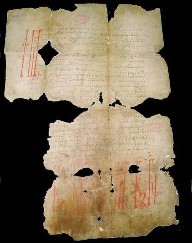 Vlad the Impaler Dracula document sealed with a curse