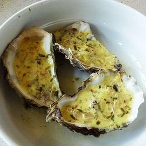 Huîtres chaudes au vin blanc