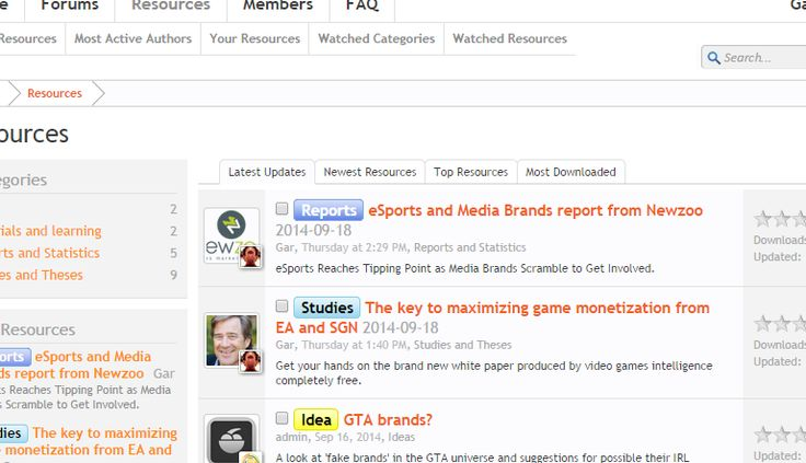 An advance look at the new 'resources' section of our Community - Grandyo.com