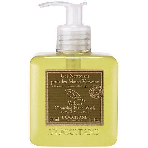 Buy L'Occitane Verbena Liquid Soap, 300ml Online at johnlewis.com