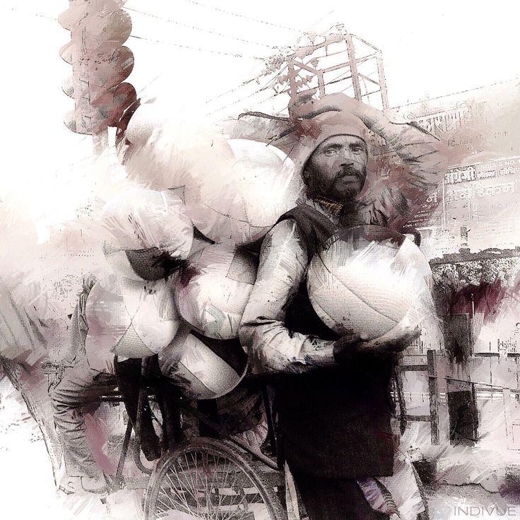 Portrait of a working man - Työntekijän muotokuva