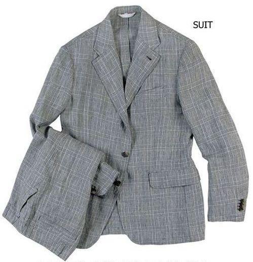 """Costume """"SLACK"""" style """"Ville"""" pour homme 100% lin, veste ACE 3 boutons, poches villes, 2 fentes et pantalon poches en biais / City """"SLACK"""" suit for men 100% linen, ACE jacket 3 buttons, flap pockets, 2 vents and pants with slanted pockets #menswear #jkeydge #slackjacket #slackmania #ivyleague #cool #casualchic #chino #jeans"""