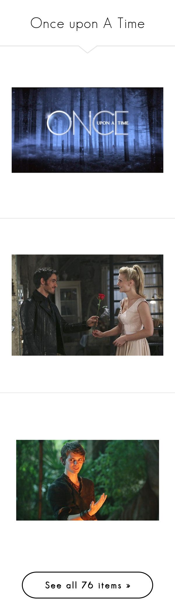"""""""Once upon A Time"""" by starlightpa ❤ liked on Polyvore featuring backgrounds, once upon a time, words, ouat, peter pan, pictures, models, accessories, hats and cap hats"""