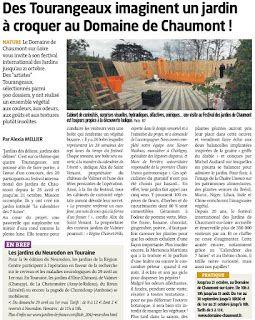 LA TRIBUNE DE TOURS - 26 avril 2012 Un article sur le Calendrier des 7 lunes