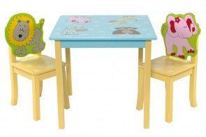 Kindertisch Set Modell Lustige Tierwelt