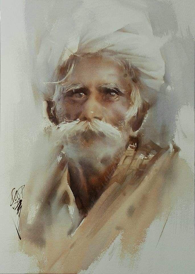 Liu Yi Retratos Pinturas