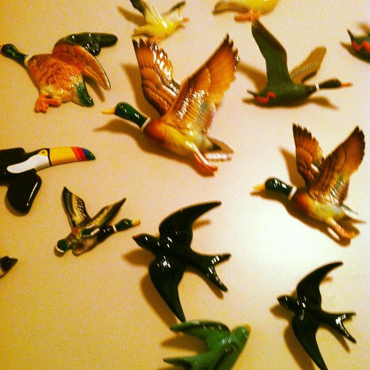 12 best Retro flying ducks images on Pinterest | Ducks, Kitsch and ...