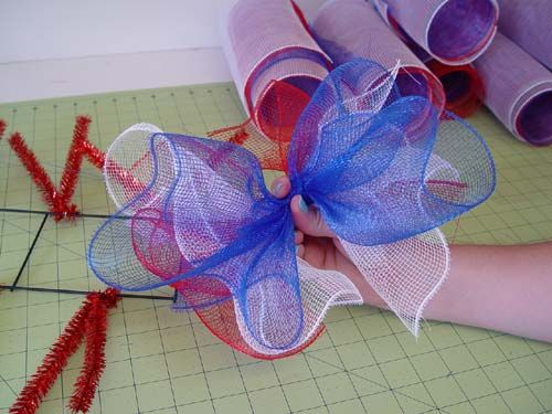 Deco Poly Mesh Firecracker Tutorial Made With New Work
