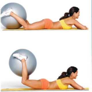 Brooke Burke Butt Lift! just bought my exercise ball yesterday :)