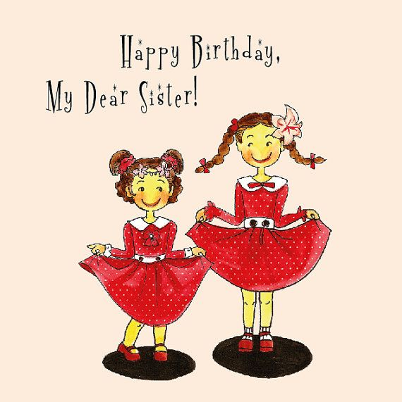 HAPPY+BIRTHDAY+SISTER+|+Birthday+Wishes+for+Sister+|+Funny+Cards+and+Quotes