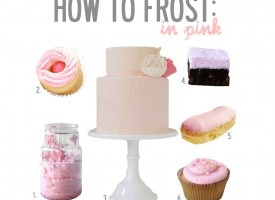 How to Frost in Pink