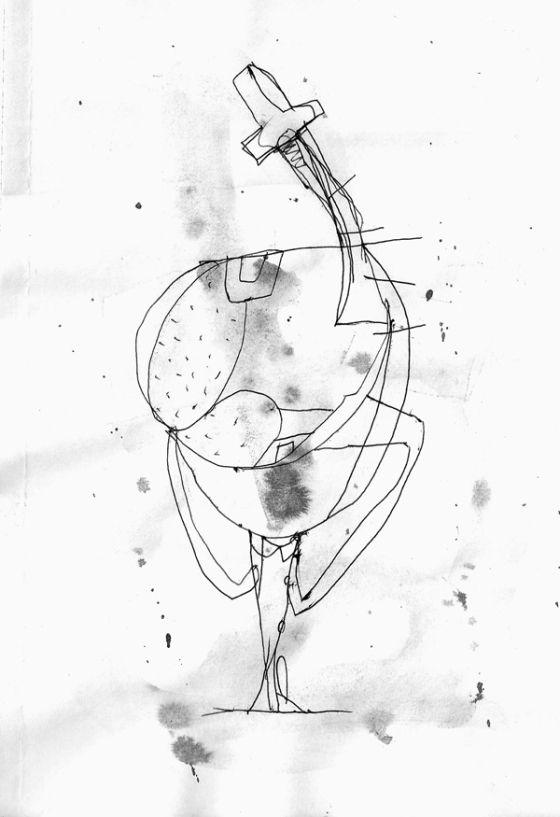 Csaba Pál, drawing 04, A/5