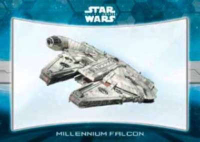 Star Wars The Force Awakens Chrome Millennium Falcon