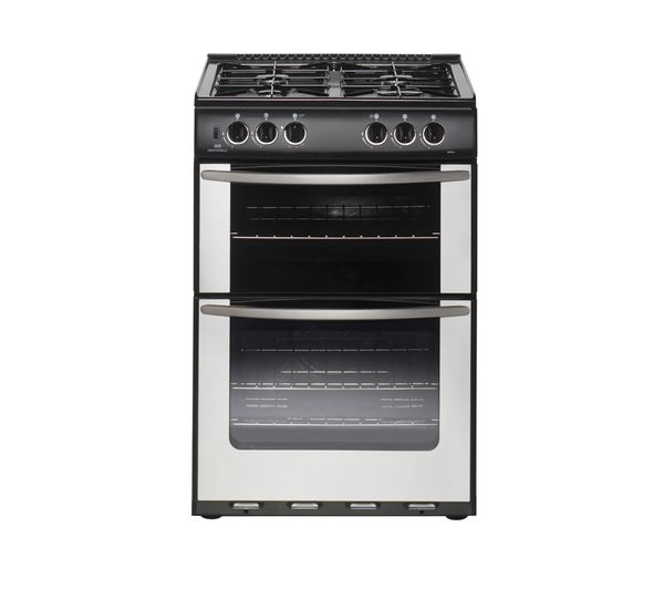 Buy NEW WORLD 55TWLG Gas Cooker - Stainless Steel   Free Delivery   Currys
