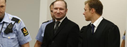 Anders Behring Breivik får fängelse