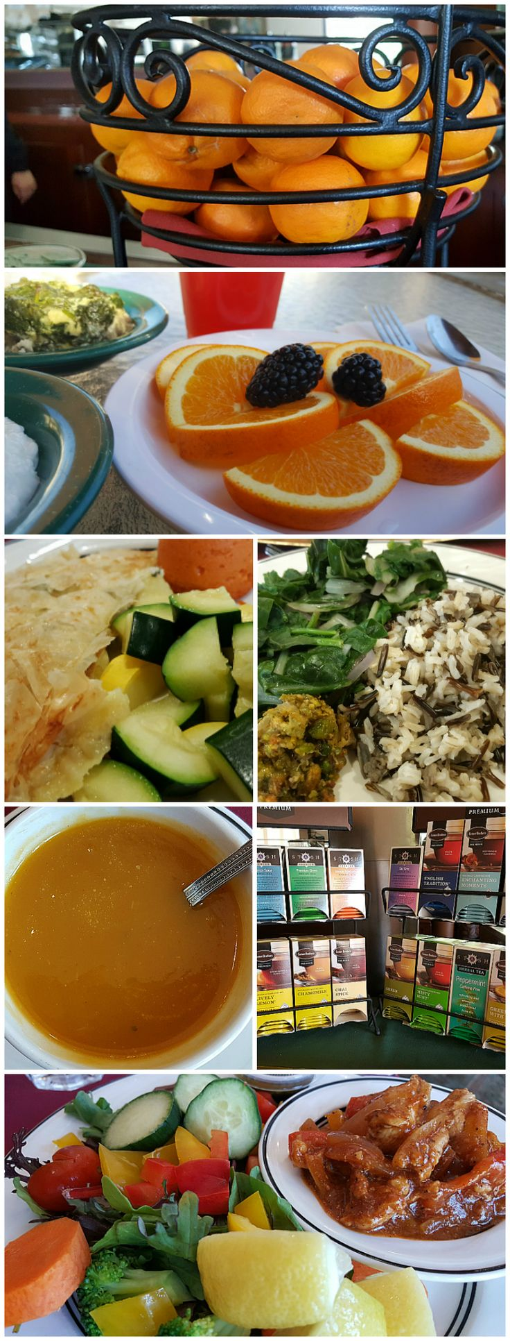 Healthy Meals and Snacks Included at The Oaks at Ojai - Southern California Spa Resort