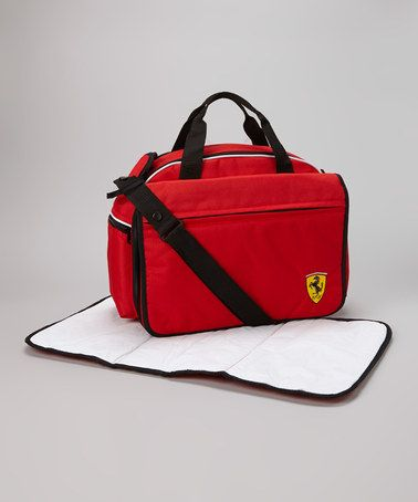 Take A Look At This Red Ferrari Mamma Diaper Bag By On Zulily Today Baby Stuff Strollers