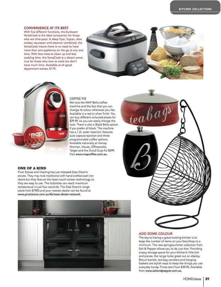 Map Bella Coffee Machine: featured in Hot Ideas Kitchen Collections section