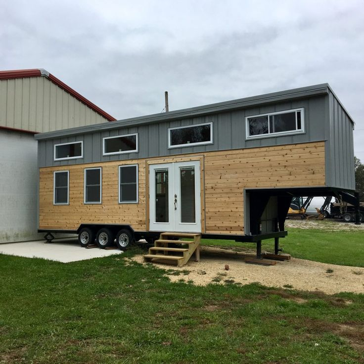 best 25 gooseneck trailer ideas on pinterest used gooseneck trailers tiny house exterior. Black Bedroom Furniture Sets. Home Design Ideas