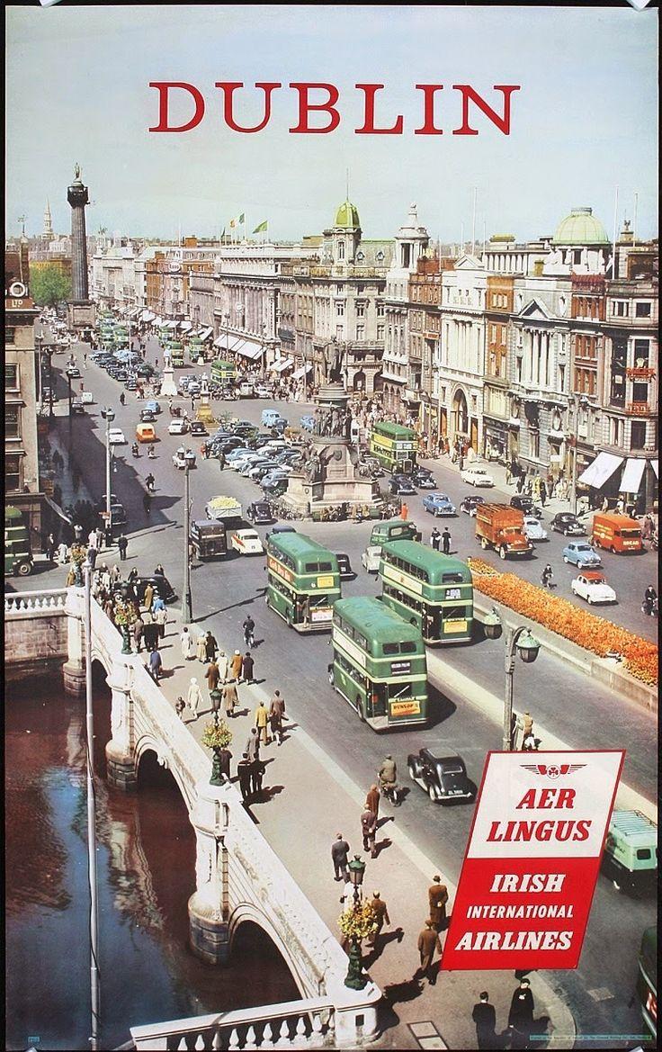 1950s Dublin, Aer Lingus, Irish International Airlines