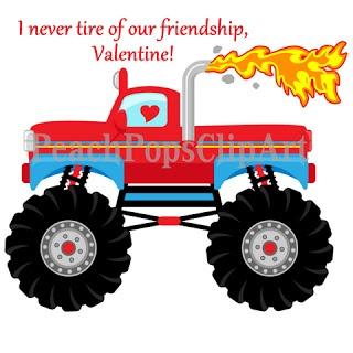 Best Monster Truck Valentine Box Ideas On Pinterest Monster