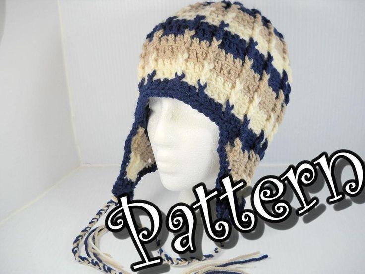51 mejores imágenes de Crochet hats en Pinterest   Sombreros de ...