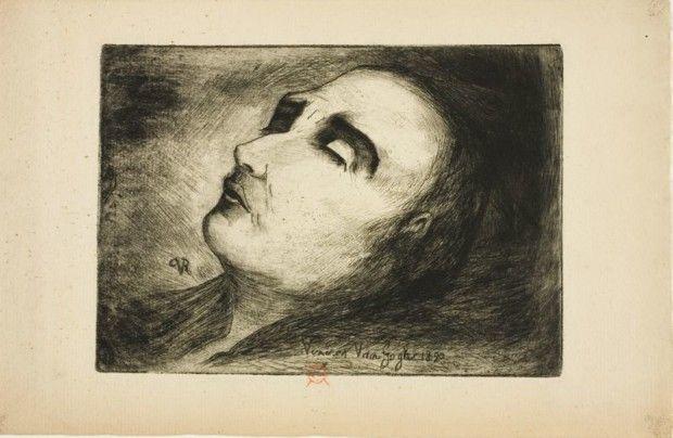 vincent van gogh death Dr. Paul Ferdinand Gachet, Vincent van Gogh on His Deathbed, 1890, Art Institute of Chicago