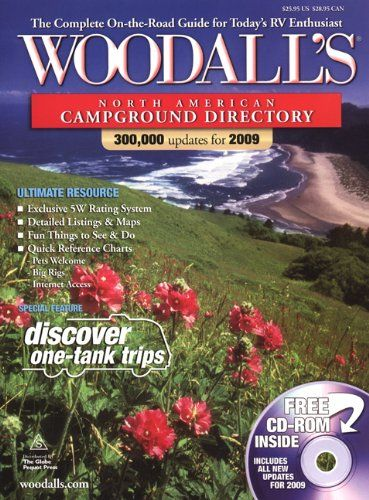 Woodall's North American Campground Directory with CD, 2009 (Good Sam RV Travel Guide & Campground Directory)