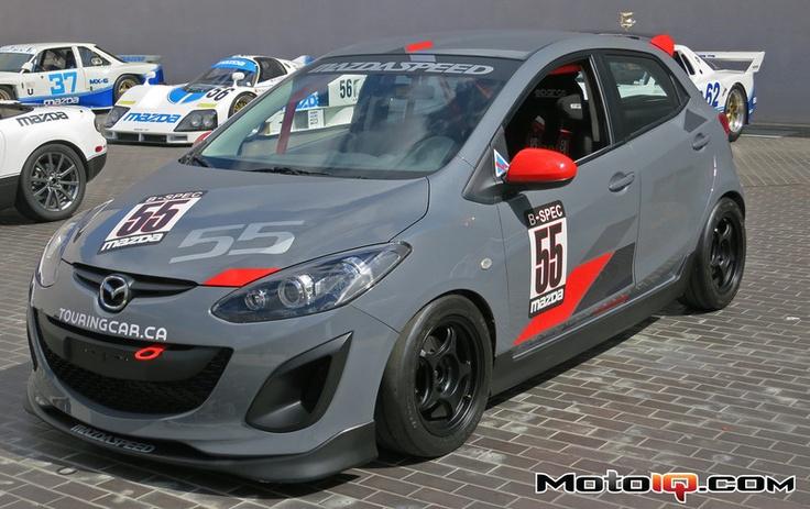 Mazda2 b spec racer. Mazda media day. Motoiq.com