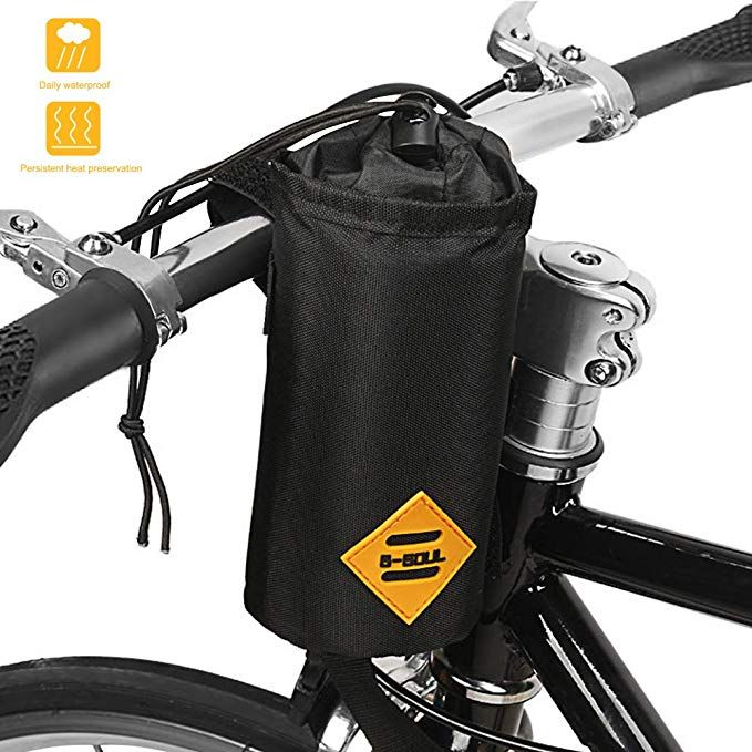 Opamoo Bike Bicycle Water Bottle Holder Bag Handlebar Cup Drink