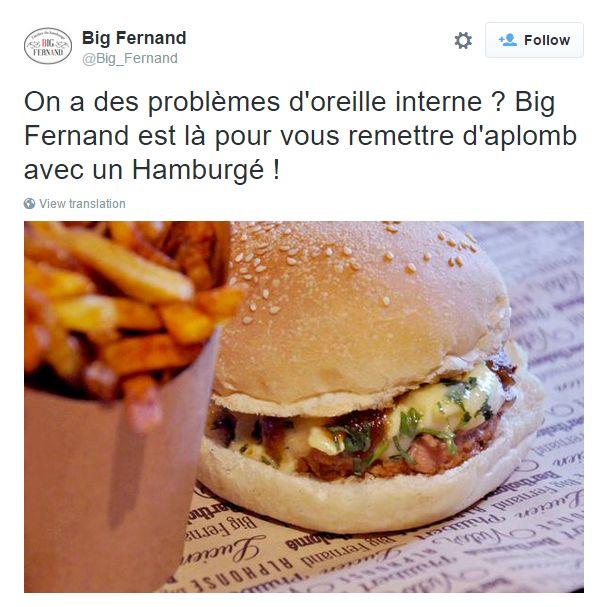 Great Twitter post from Big Fernand Montorgueil in Paris, France / Sympathique post Twitter de Big Fernand Montorgueil in Paris, France https://twitter.com/Big_Fernand/status/630317358565847041