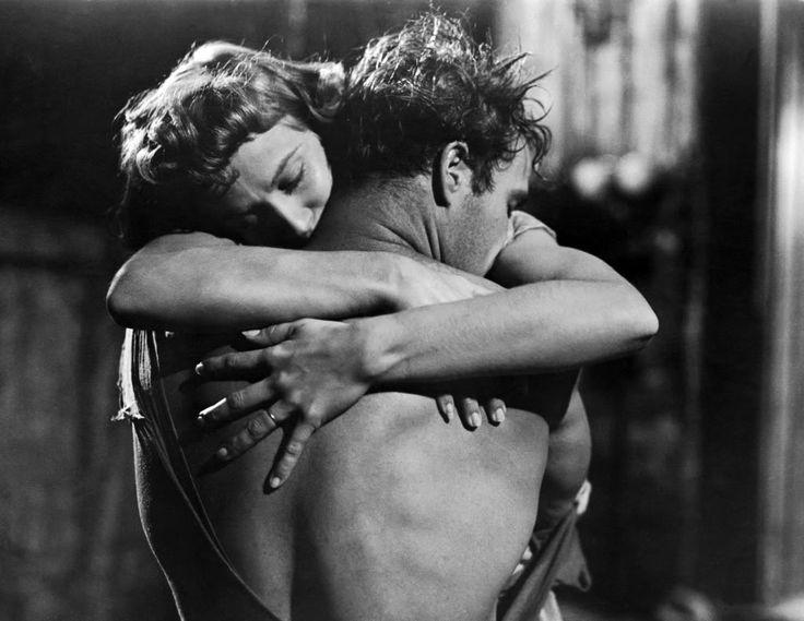 "somehungryeye: "" Marlon Brando and Vivien Leigh in A Streetcar Named Desire by Elia Kazan, 1951. """