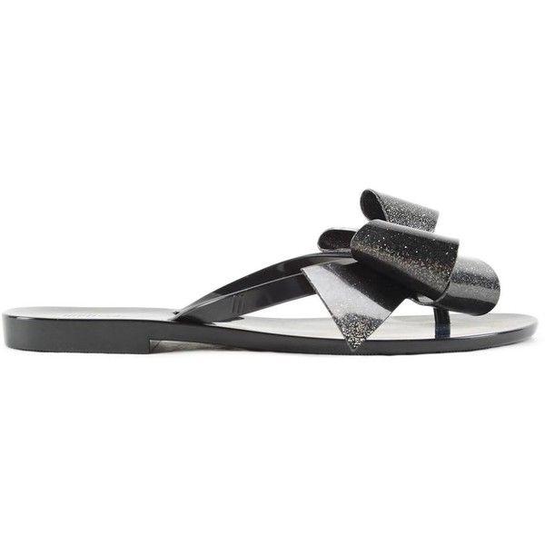Melissa Harmonic Flip Flop (193.365 COP) ❤ liked on Polyvore featuring shoes, sandals, flip flops, melissa shoes, melissa footwear, melissa sandals and melissa flip flops