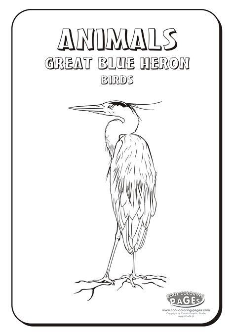211 best images about stencils on pinterest herons deer for Great blue heron coloring page
