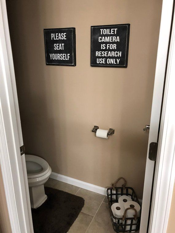 Funny Bathroom Signs Bathroom Sign Funny Bathroom Art Bathroom Signs Bathroom Art Bathroom Wall Decor Toilet Paper Sign Toilet Camera Funny Bathroom Signs Funny Bathroom Art Bathroom Signs