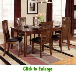 Regency 7 Piece Dining Room By Standard At Furniture Warehouse