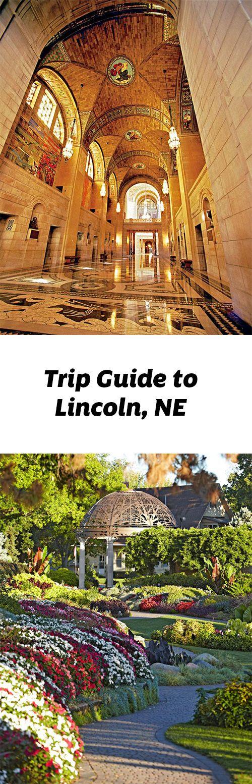 Home to the University of Nebraska, this college town scores with beautiful blooms in the Sunken Gardens of Lincoln, a lively entertainment district and the Art Deco-style Capitol. Trip guide: http://www.midwestliving.com/travel/nebraska/lincoln/lincoln-trip-guide/